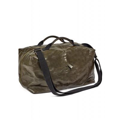 Wochenend-Tasche | Leder | Grün