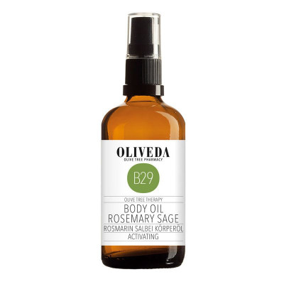 Body Oil Rosmary Sage Activating