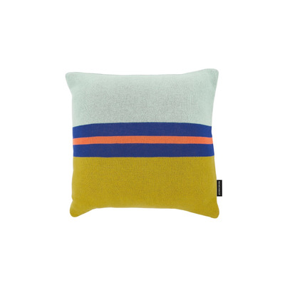 Knitted Cotton Cushion Rosemary | Multicolour