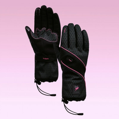 Moontouch Intelligent Heated Handgloves | Fuxia