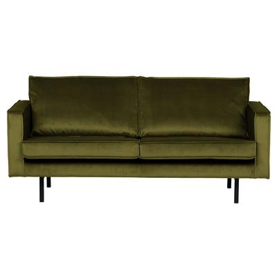 2,5 Seater Sofa Rodeo Velvet | Olive Green