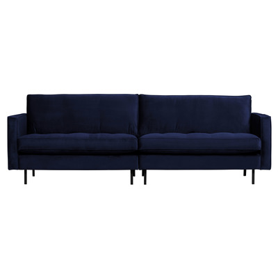 3 Seater Sofa Rodeo Classic Velvet | Dark Blue