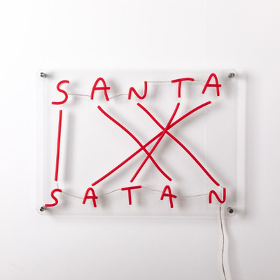 LED Wall Lamp Codalunga | Santa-Satan