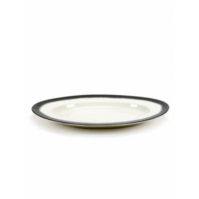 Ovale Schale XL | Black Edge Pasta