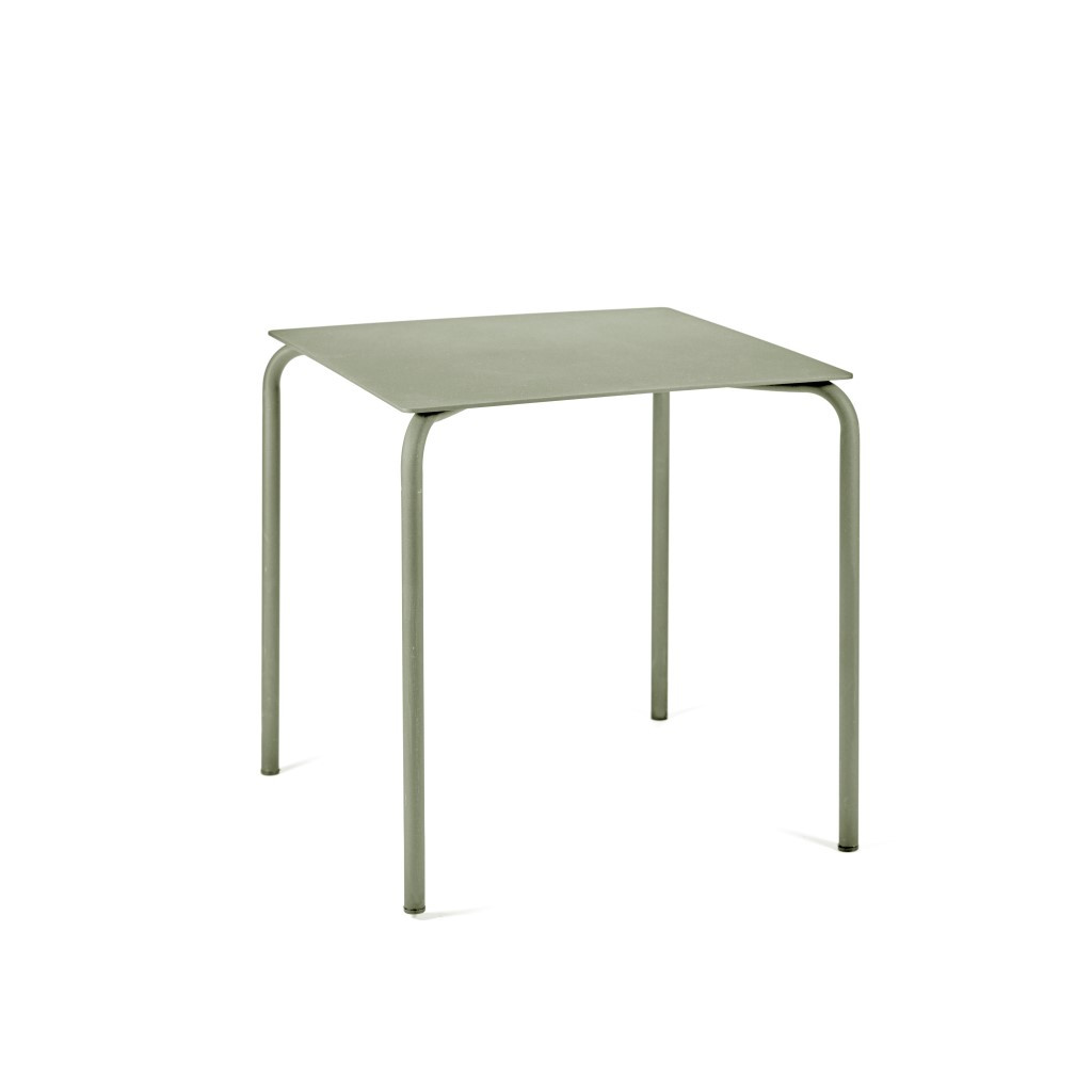 Tisch August 70 x 70 cm | Eukalyptusgrün