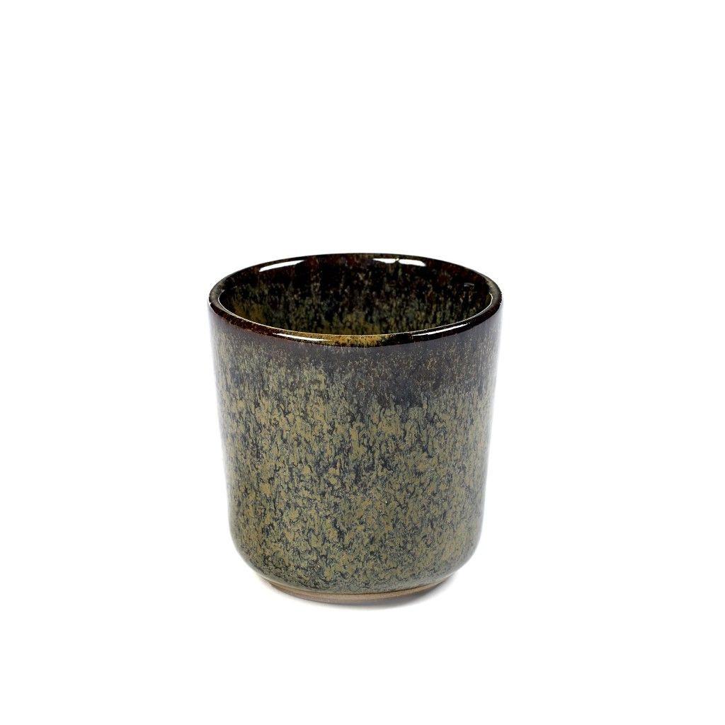 Oberflächenbecher Indi Grau   2er-Set klein