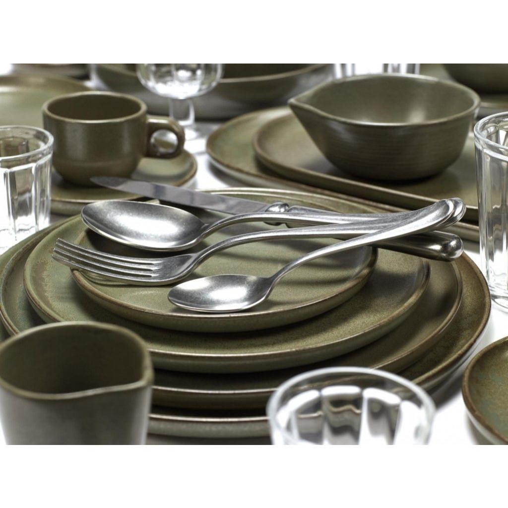 Suppenteller Surface Indigrau | 4er-Set