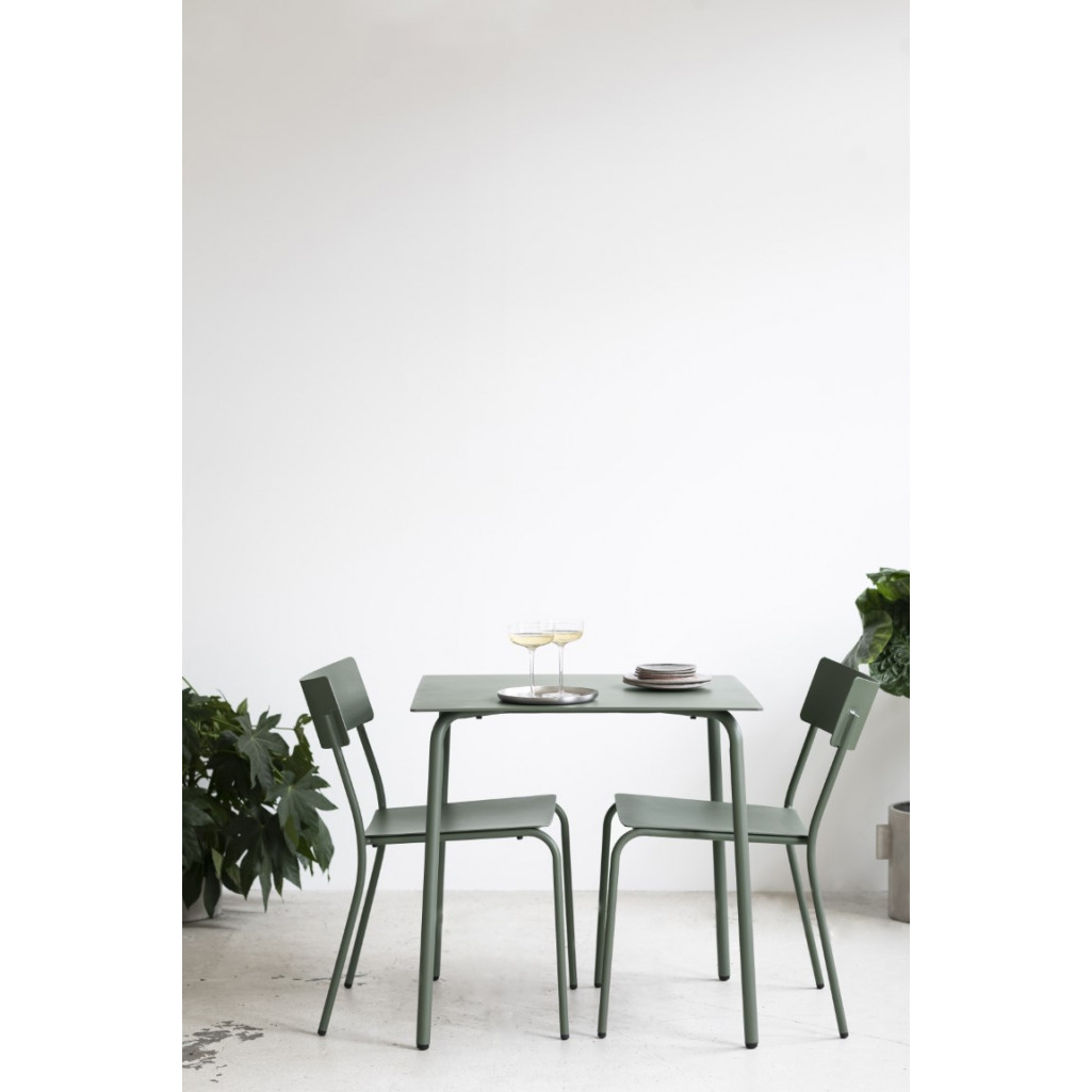 Tisch August 65 x 65 cm | Schwarz