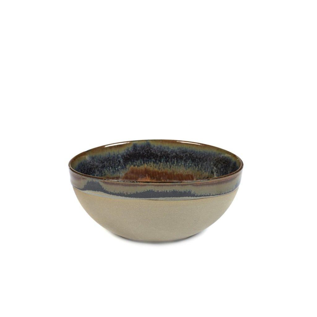 Surface Bowl Ø 15 Rusty Brown | Set of 4