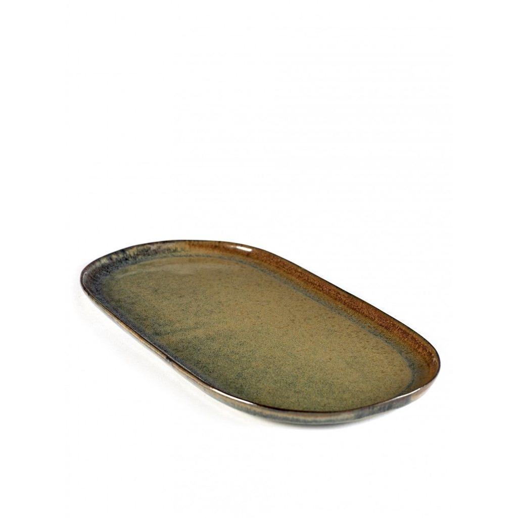 Oberfläche Tapas-Platte Indi Grau-Klein