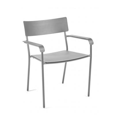 Outdoor Armchair August | Grey