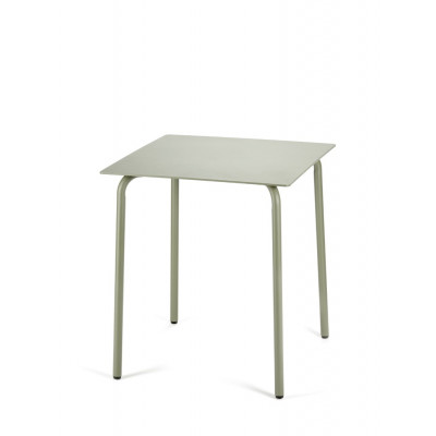 Tisch August 65 x 65 cm | Eucalyptusgrün
