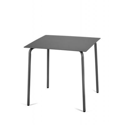 Tisch August 75 x 75 cm | Schwarz