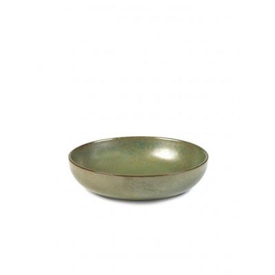 Suppenteller Surface Tarngrün | 4er-Set