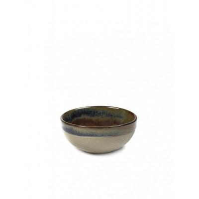 Surface Bowl Ø 9 Rusty Brown | Set of 4