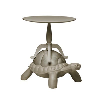 Abgenutzter Couchtisch Schildkröte | Grau