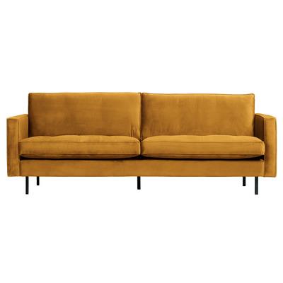 2,5 Seater Sofa Rodeo Classic Velvet | Ochre