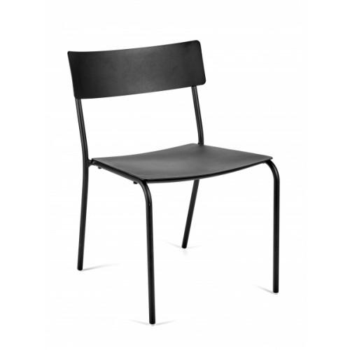 Chaise sans Accoudoirs August | Noir