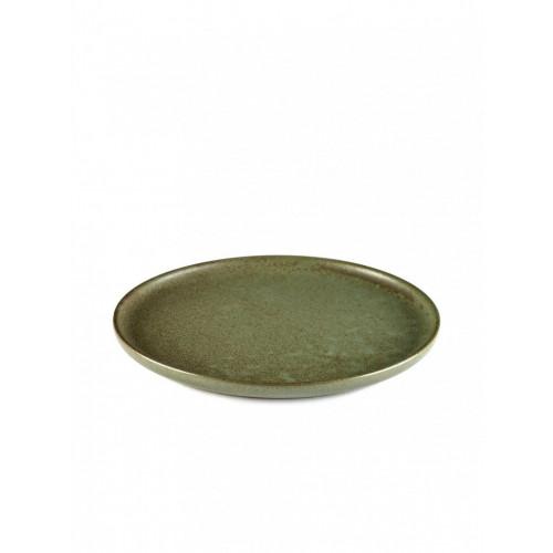 Dessertteller Surface Tarngrün | 4er-Set
