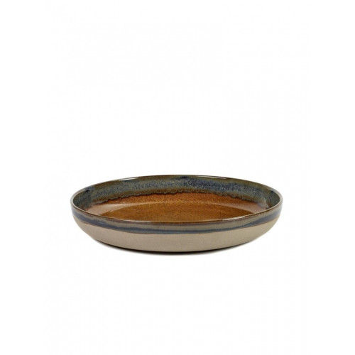 Surface Bowl Ø 32 Rusty Brown