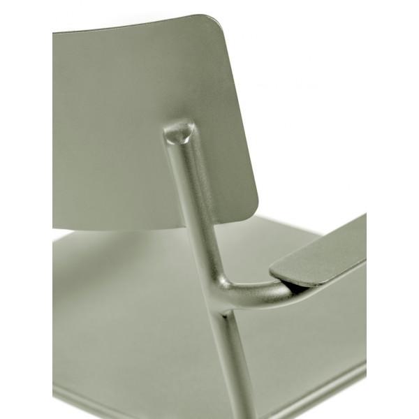 Chaise avec Accoudoirs August | Eucalyptus Vert