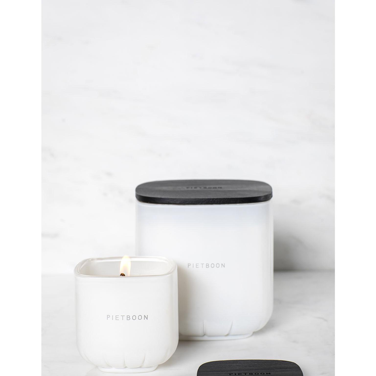 Duftkerze 7AM Mittel | Weiß