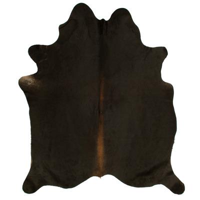 Woooly® Einzigartig Kuhhaut    Dunkelbraun, Schwarz und Creme
