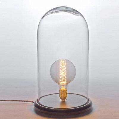 Tischleuchte Glass Dome 48 cm | Extra Large