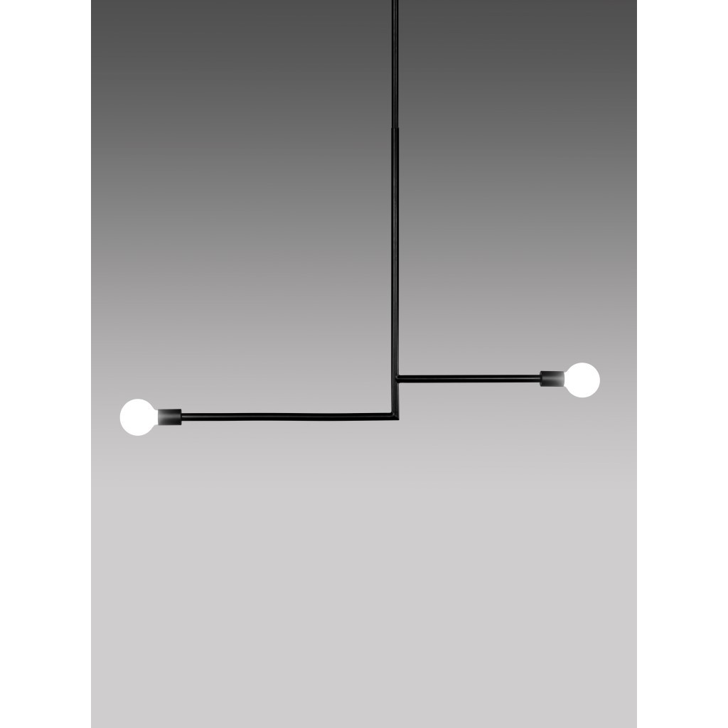 Hängelampe KVG No. 08 | Schwarz