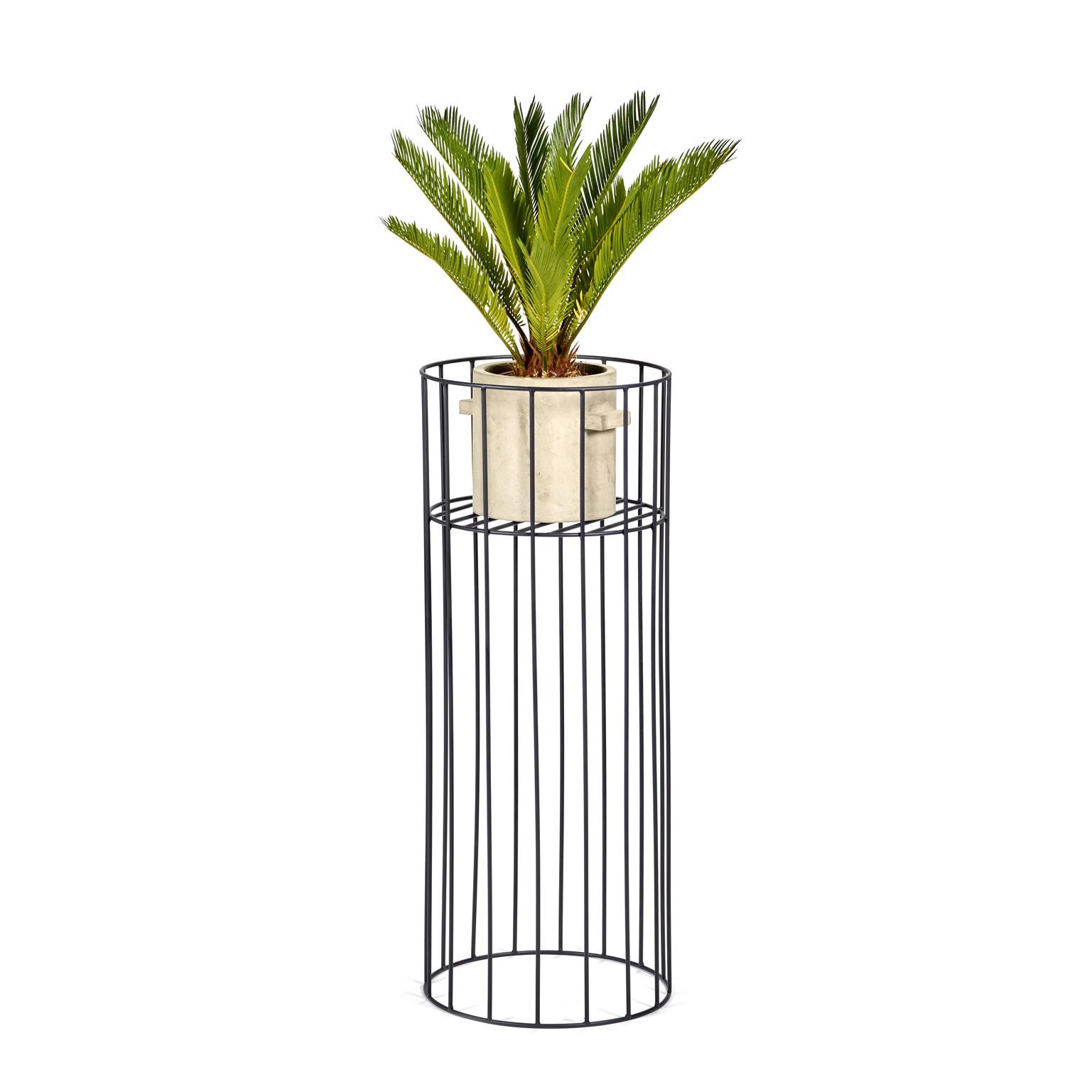 Plant Stand M | Black Vasaro