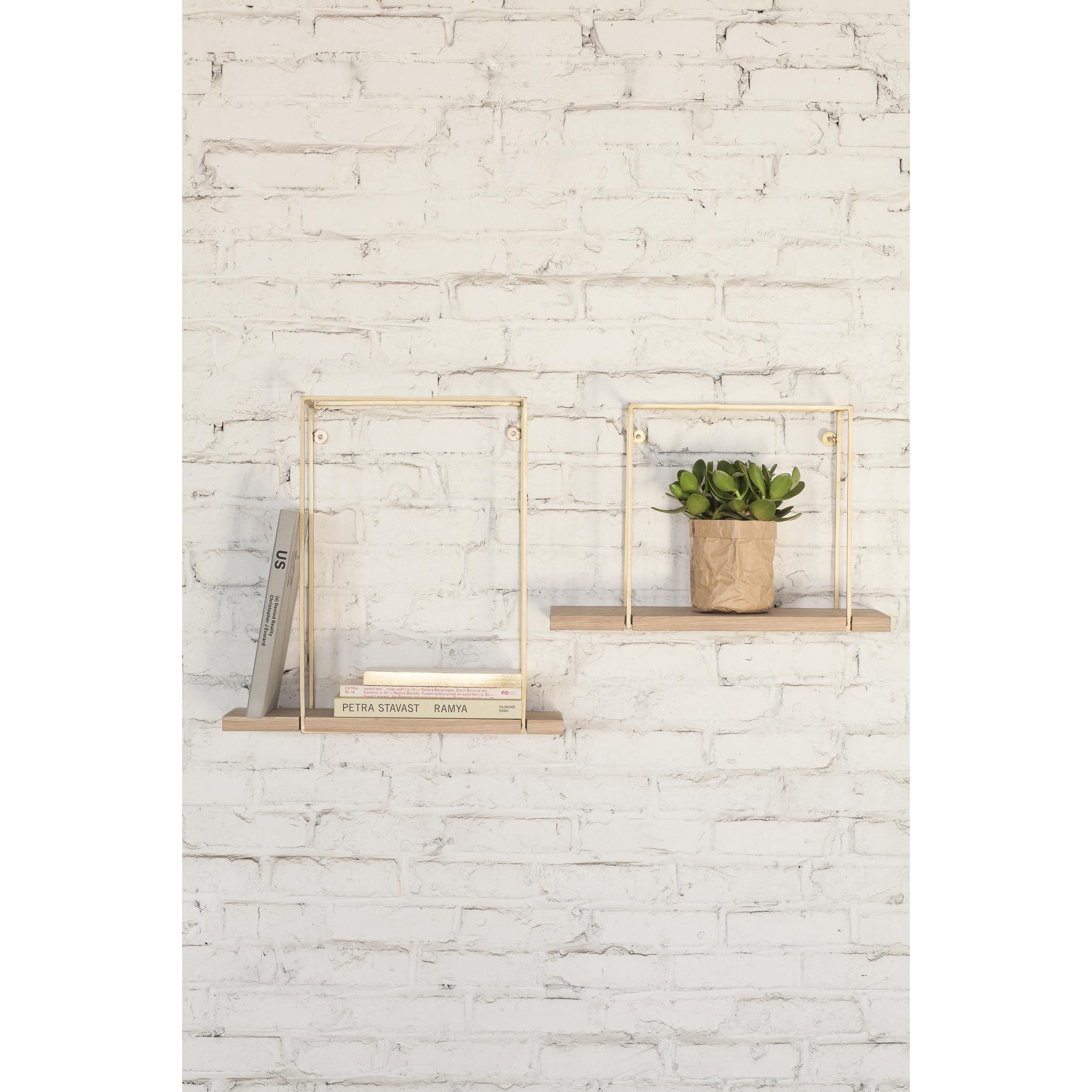 Studio Simple Hang Rack H 30 cm   Oak