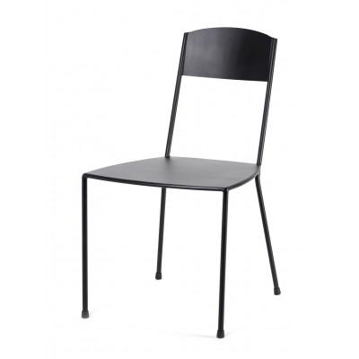 Stuhl Adriana 83 cm   Schwarz Matt
