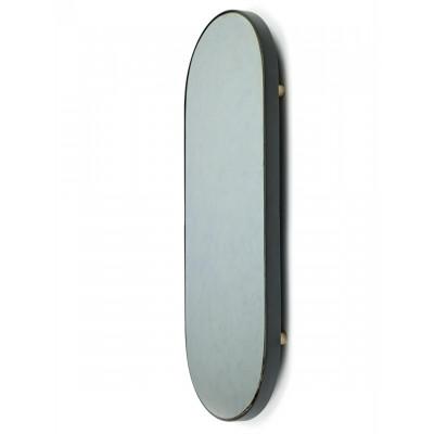 Studio Simple Mirror Tray Oval 80 cm | Schwarz