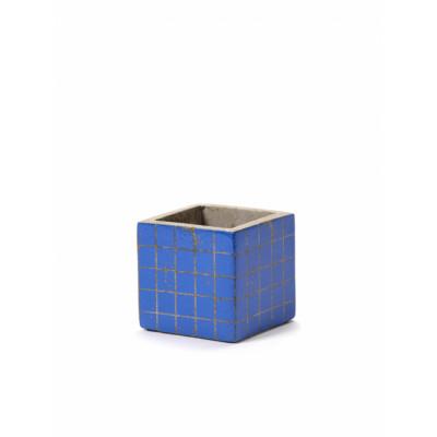Pflanztopf Marie Mosaic 7,5 cm | Blau