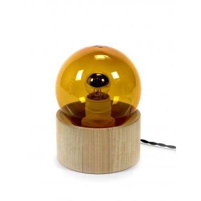 Studio Einfache Vollmondlampe   Bernstein