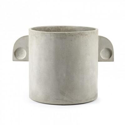 Plant Pot Concrete Round | Large