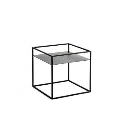 Pflanz-Gestell Display XS 40x40x38 cm | Schwarz