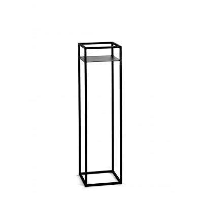 Pflanz-Gestell Display 20x20x75 cm | Schwarz