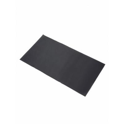 Lederuntersetzer für Wandschreibtisch Schwarz