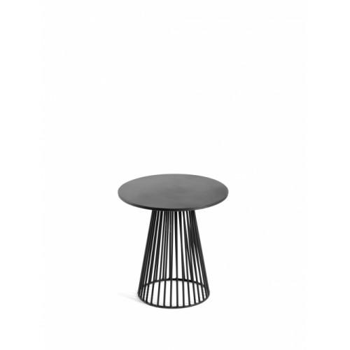 Beistelltisch Bistrot Garbo | Schwarz-30 cm