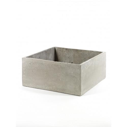 Pflanztopf L | Grau