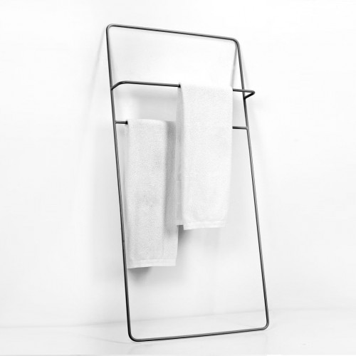 Handtuchhalter Low Juno | Schwarz