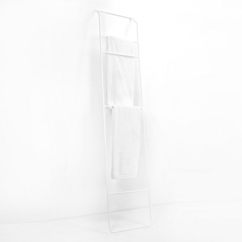 Towel Rack High Juno | White