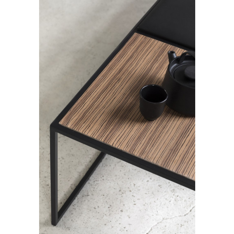 2nd Life | Bench Andrea | Black & Wood
