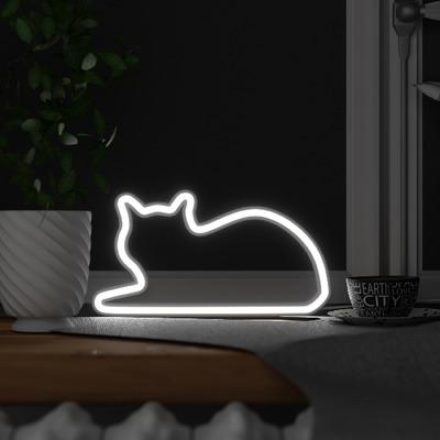 Katze Light Aufrecht