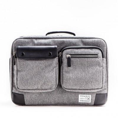 Briefpack XL | Grey & Black