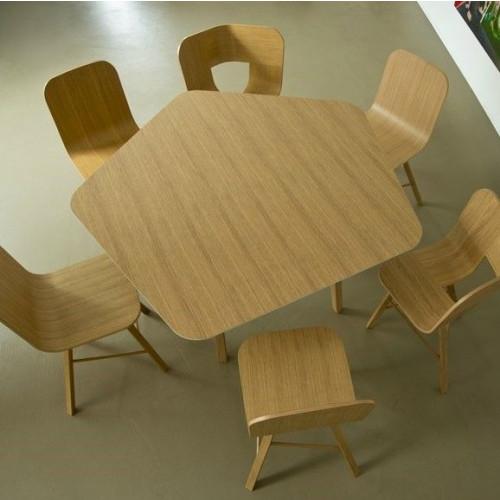 Tisch Tria | Fünfeckig
