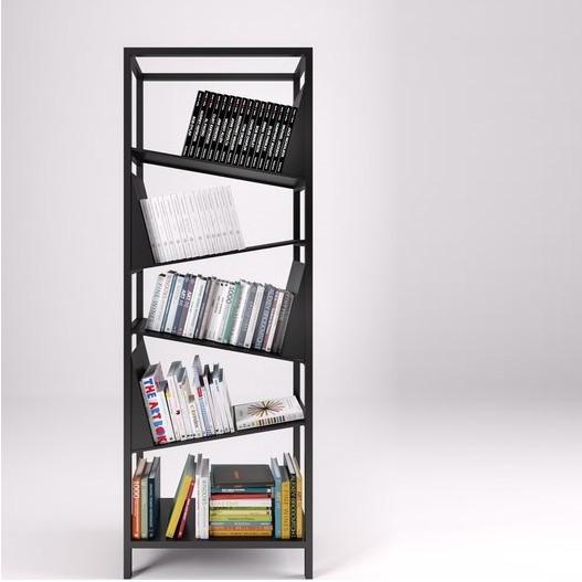 Bücherregal My Library   Schwarz