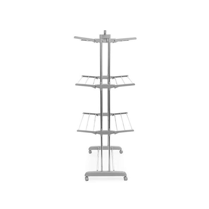 Foldable Clothes Airer with Weels