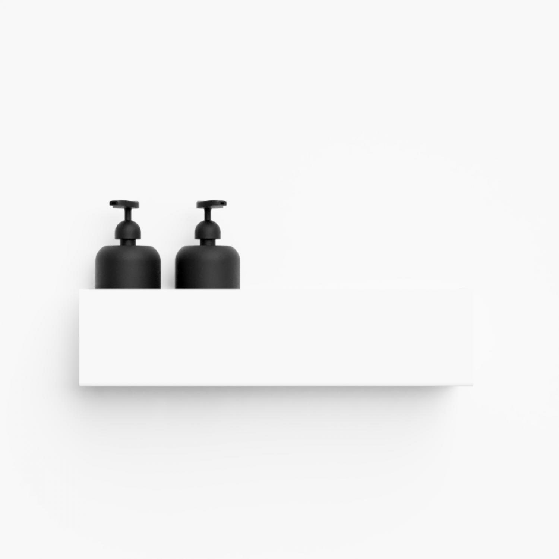 Étagère de Rangement Bath Shelf 40 cm | Blanc